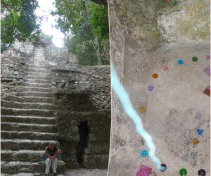 Ascension-Collage- Tikal-Guatemala-ürkiser-Strahl